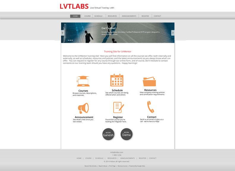 lvt3 - Google Sites Templates