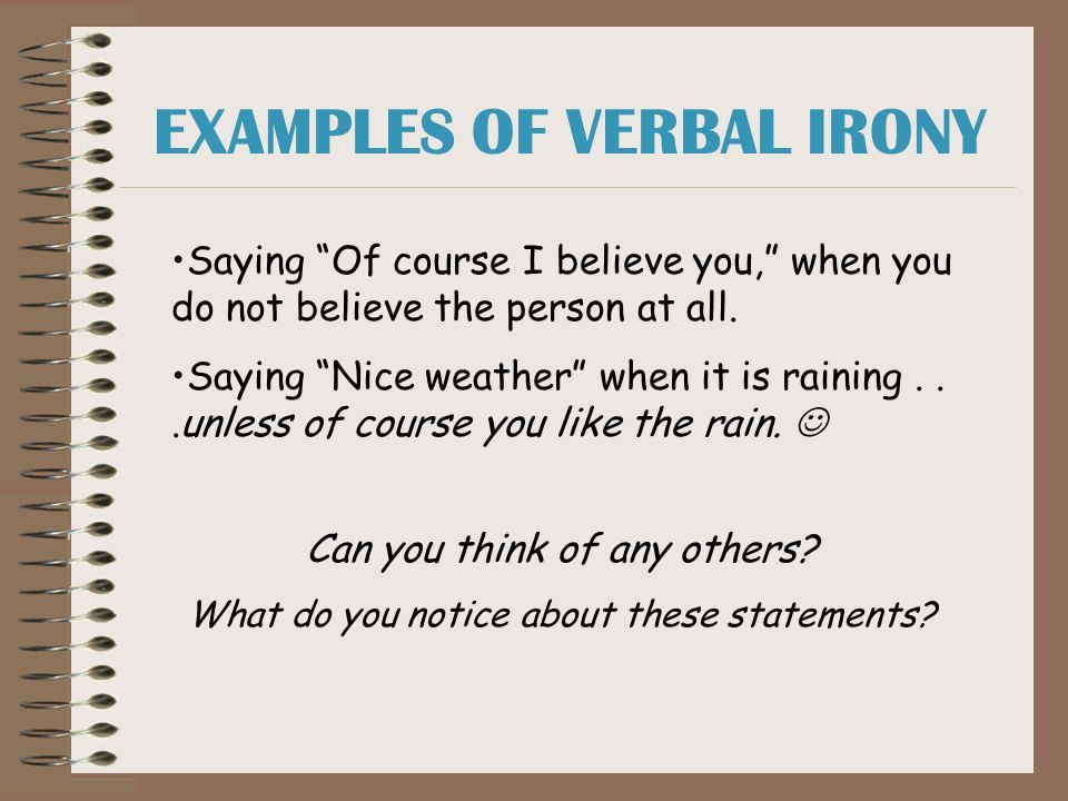 Isn't it ironic? A lesson on irony - ppt download