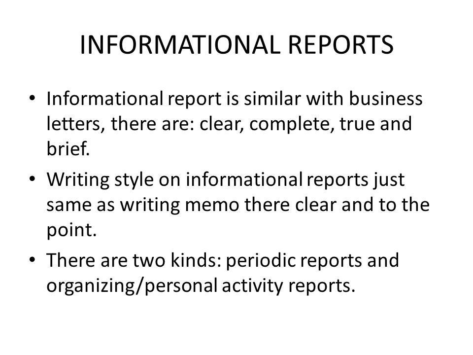 SHORT REPORTS. - ppt video online download