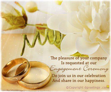 Engagement Invitation Wording, Engagement Party Invitations, Message