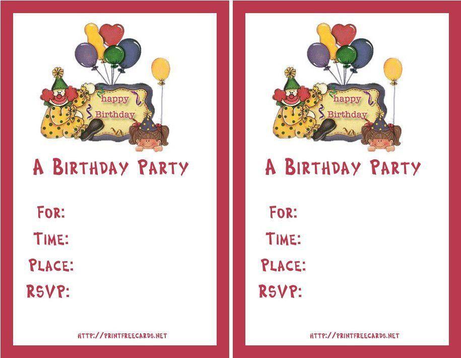 Birthday Invitation Maker Free – gangcraft.net