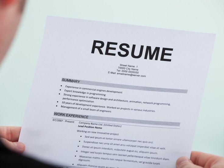 338 best Resume Tips images on Pinterest | Resume tips, Resume ...