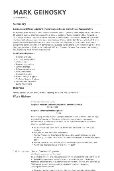system engineering resume senior network engineer resume