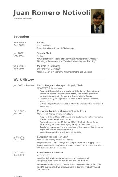 Senior Program Manager Resume samples - VisualCV resume samples ...