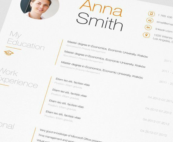 67 best Work images on Pinterest | Resume ideas, Cv design and ...