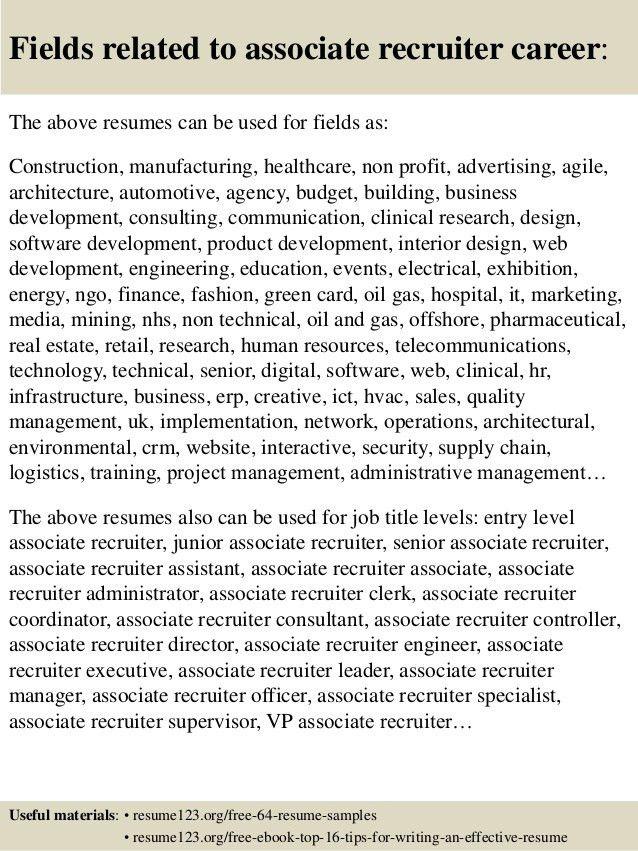 technical recruiter resumes resume cv cover letter