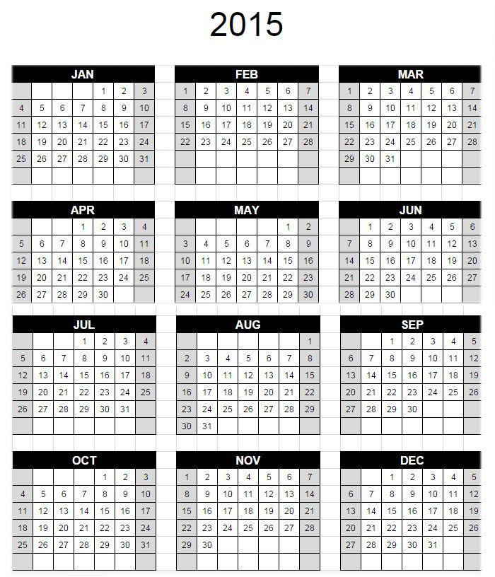 15+ Best Google Calendar Templates - Free PSD, Vector EPS, PNG ...