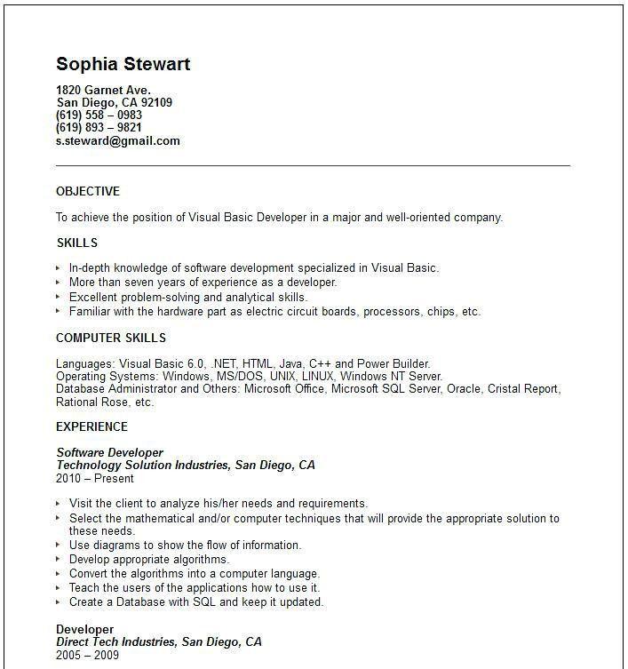 computer skills resume examples 7 resume basic computer skills
