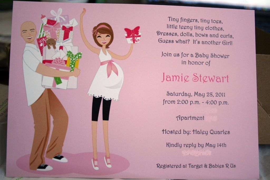 Couples Baby Shower Invitation Wording Ideas | THERUNTIME.COM