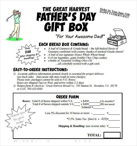 Gift Box Template - 8+ Free Sample, Example, Format Download ...