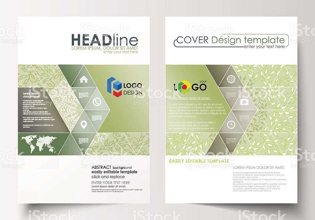 Business Templates Brochure Flyer Annual Report Cover Design ...