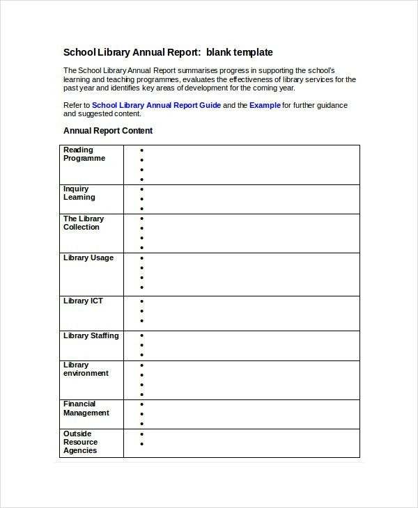 Word Report Template - 8+ Free Word Document Downloads | Free ...