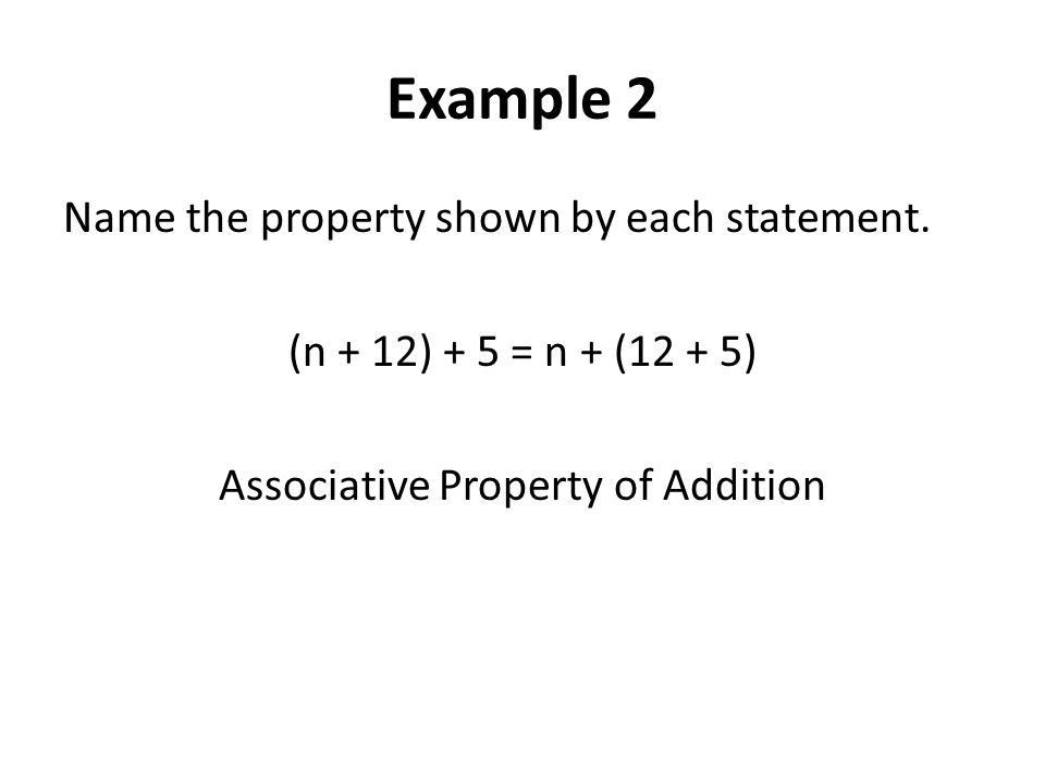 Commutative and Associative Properties - ppt video online download