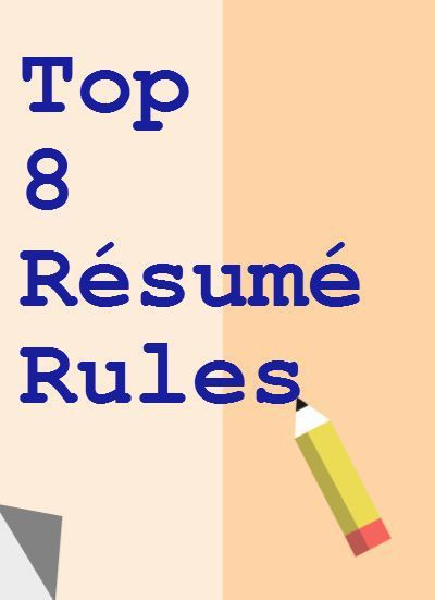 Perfect resume writing tips