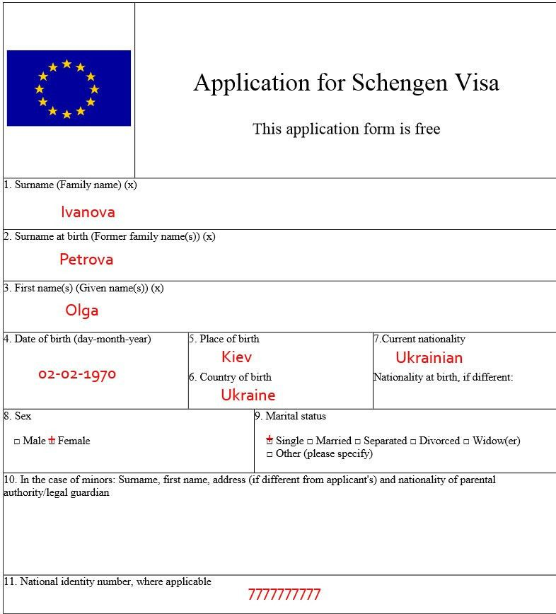 Application for schengen visa russian collimagiste.com