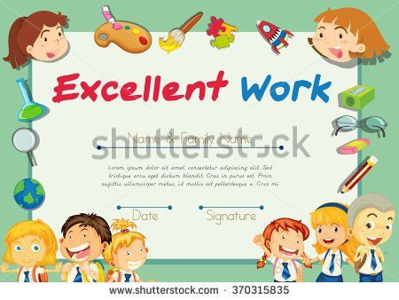 Certificate Of Excellence Stock Images, Royalty-Free Images ...