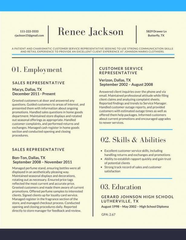 Resume : Susan Breyer Create Online Portfolio Career Focus ...