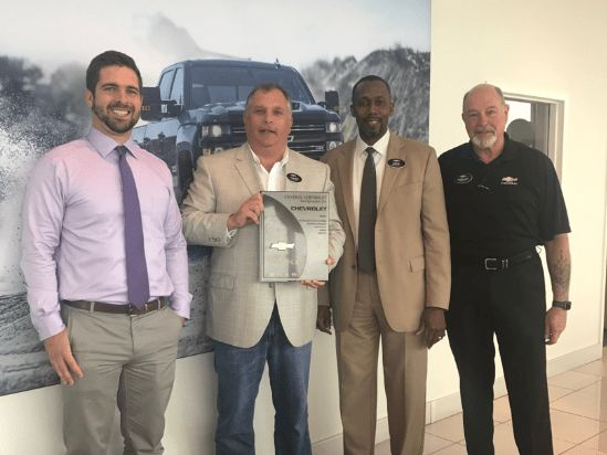 Mark of Excellence | Central Chevrolet