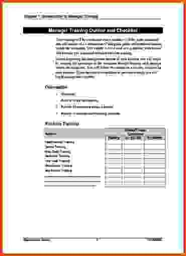 Training Manual Template.sample Training Manual Template Example ...