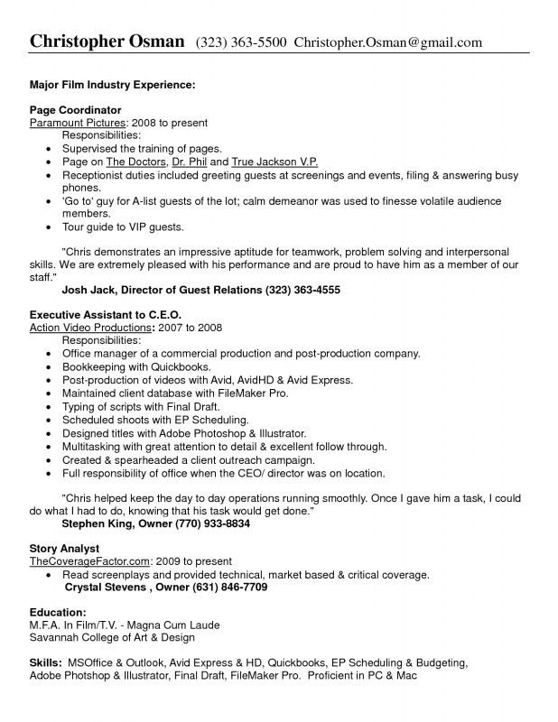 Office Manager Job Description For Resume | Samples Of Resumes