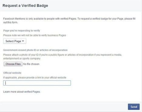 Impressum Facebook Page with Example Sample Wha...