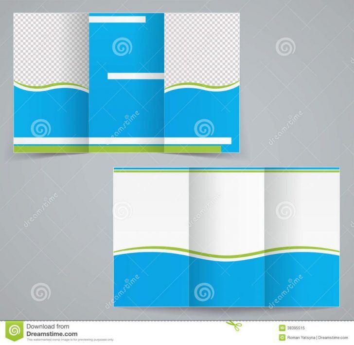 Fresh Free Blank Tri Fold Brochure Templates for Microsoft Word ...