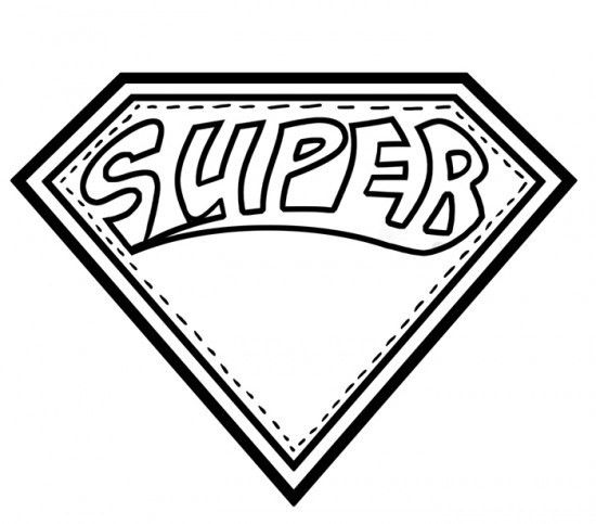 Superhero Logo Colouring Sheets: Batman coloring page pages of ...