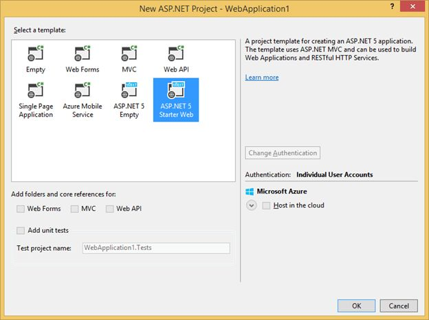 Announcing ASP.NET features in Visual Studio 2015 Preview and ...