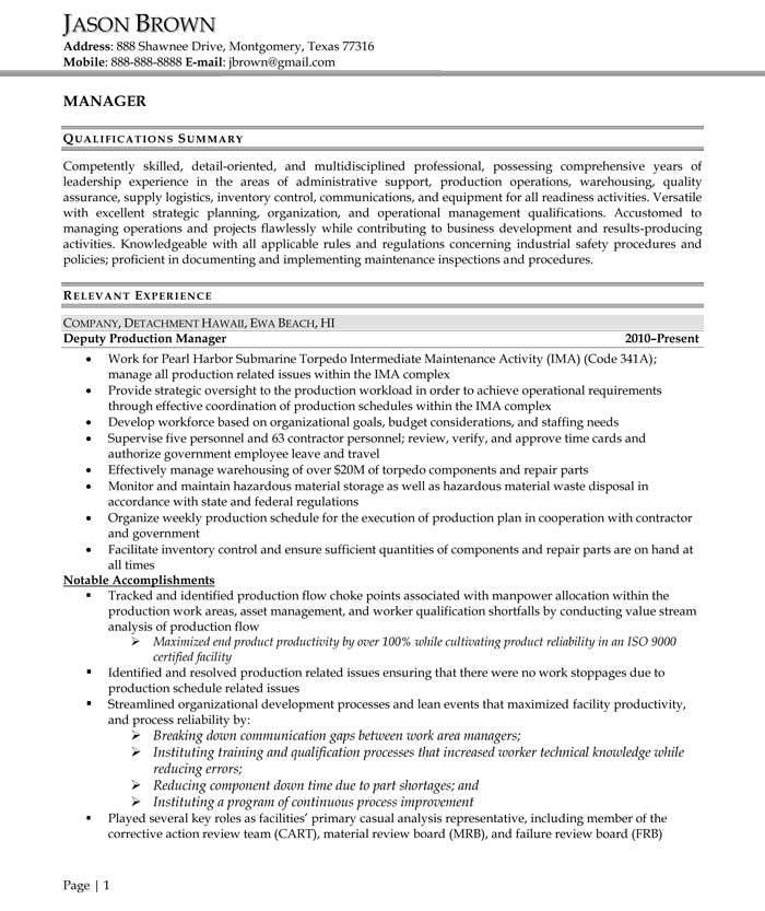 Administrative Resume Examples - Resume Professional Writers