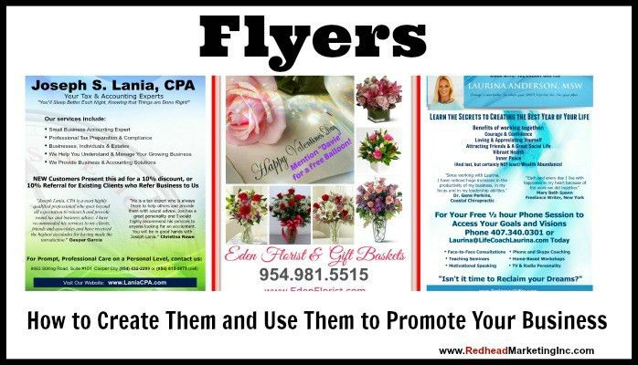 Flyers: How to Create Them and Use Them to Promote Your Business ...