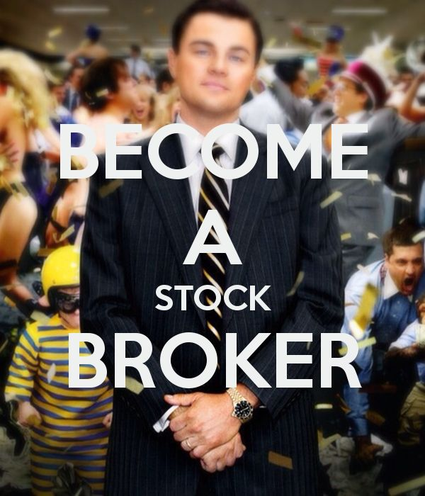 Stockbroker / Making quick money