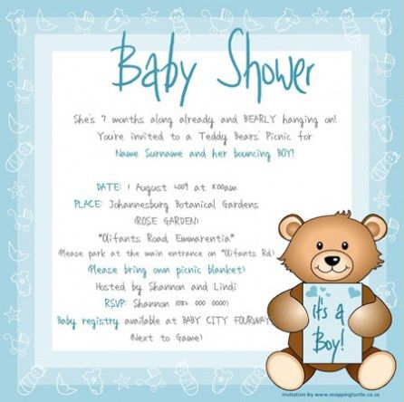 Best Collection Of Baby Shower Online Invitation Templates Free To ...
