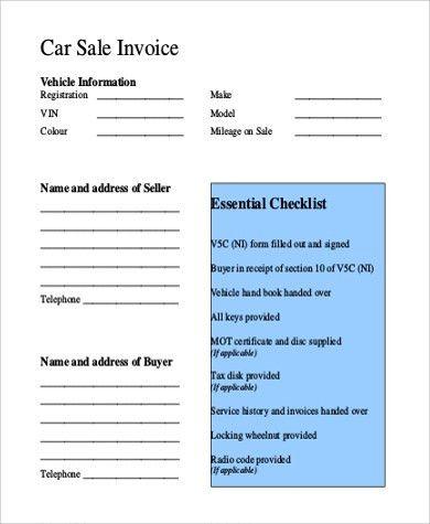 sales invoice templates