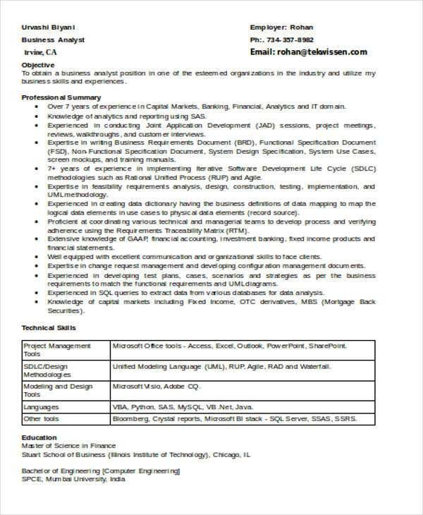 research analyst resume research analyst resume samples visualcv