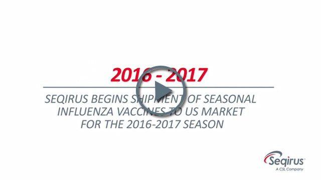 Seqirus begins shipment of seasonal influenza vaccines to US ...
