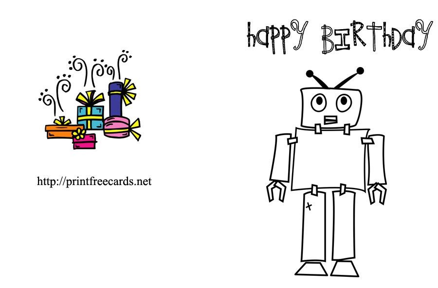 Funny Free Printable Birthday Cards – gangcraft.net