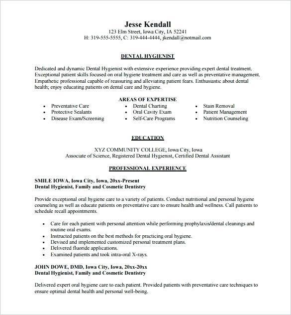 Dental Assistant Resume Skills – Okurgezer.co