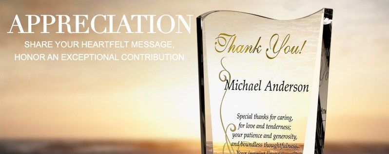 Appreciation Award Plaque Wording Ideas | DIY Awards