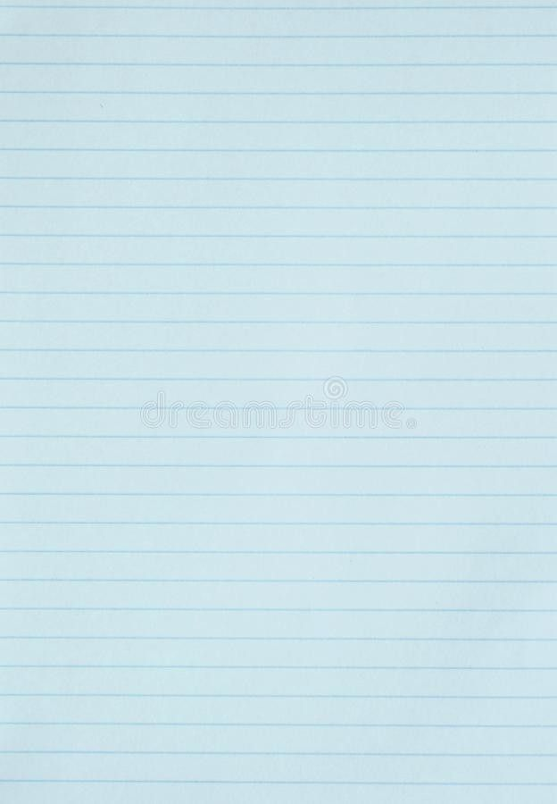 Blank Blue Lined Paper Background Or Textured Stock Images - Image ...