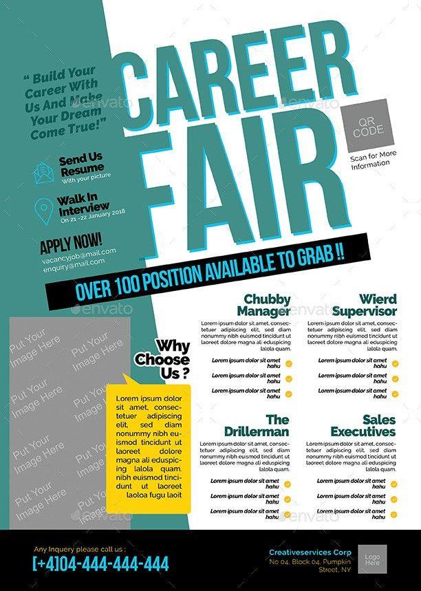 Career Fair Flyer by shamcanggih | GraphicRiver