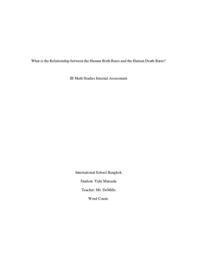 Ia final report