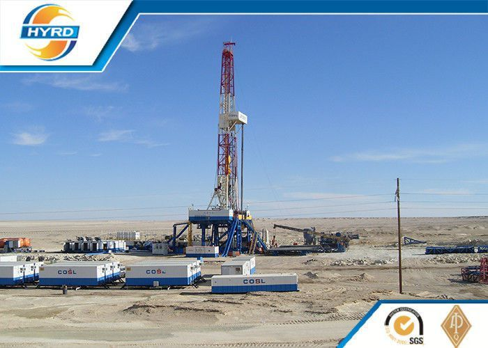 High Efficiency Electrical Onshore Oil Drilling Rig , Oil Drilling ...