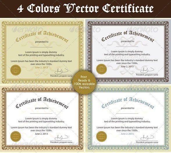 Free and Premium Certificate Template | 56pixels.com