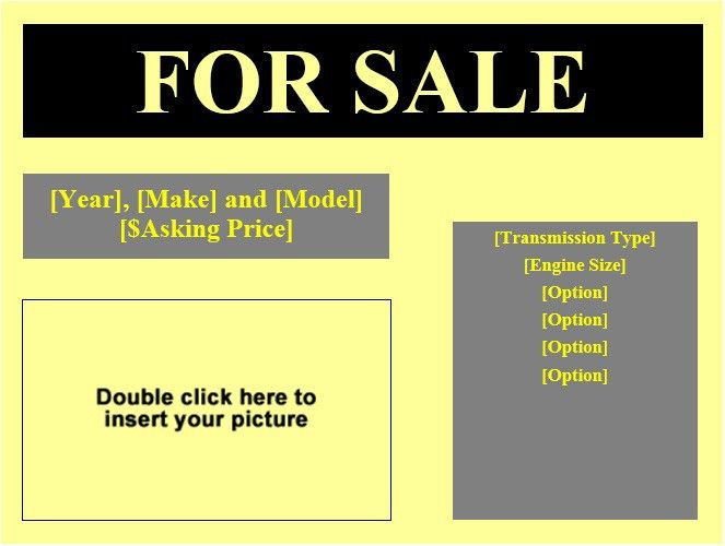 10 Free House for Sale Flyer Templates – Stationery Templates