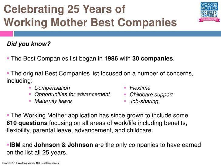 100 best companies executive summary