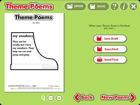 Theme Poems - ReadWriteThink