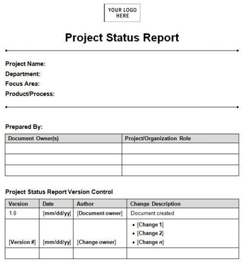 Monthly Work Report Template [Nfgaccountability.com ]