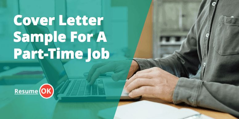Letter Sample For A Part-Time Job