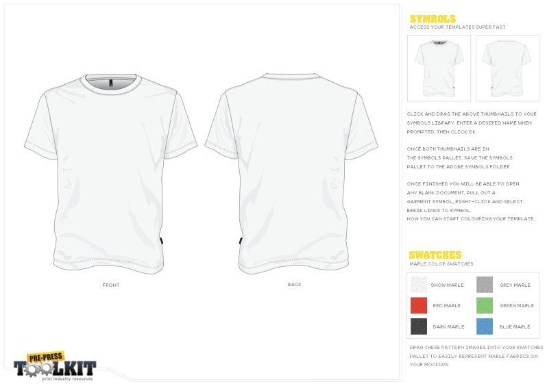 Free t shirt template vector mockup vector file