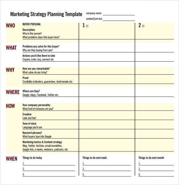 Sample Marketing Campaign – 6+ Documents in PDF, Word